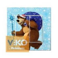Выключатель 2-й Медведь с Подарками Karre Viko, 90962744
