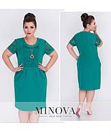 Женские платья больших размеров. Размер 52, 54, 56, 58, 60, 62. В наличии 3 цвета