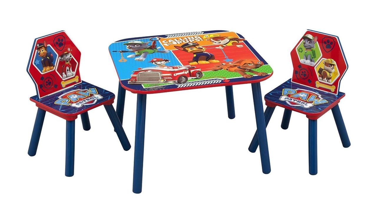 Детские стол и стулья Psi Patrol Delta