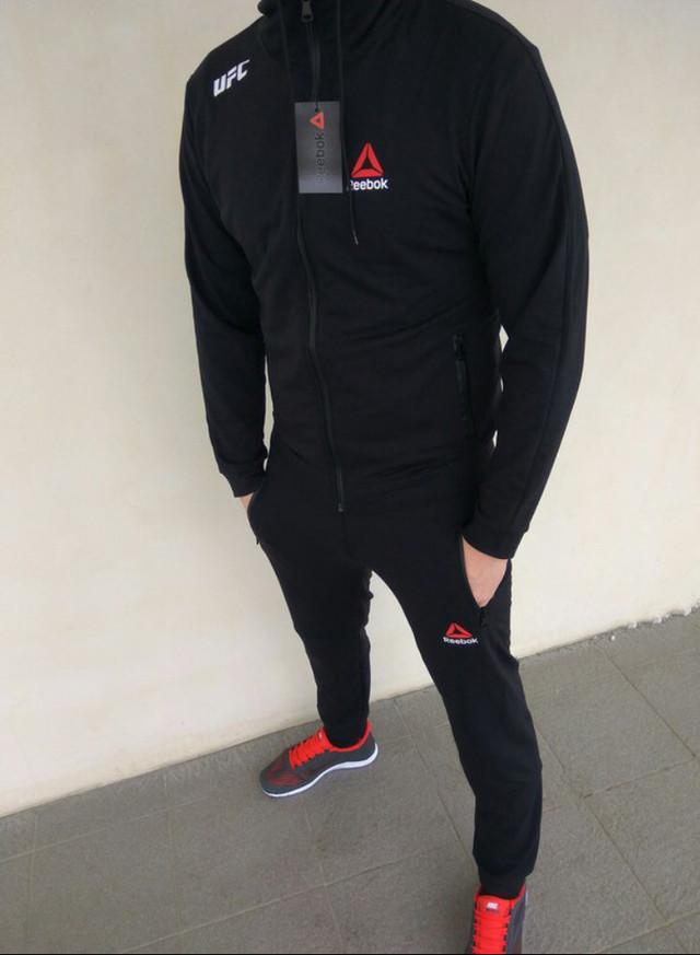 9e636d7e Спортивный костюм мужской черный Reebok UFC Рибок, цена 850 грн ...