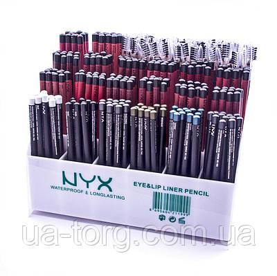 Набор карандашей NYX waterproof longlasting eye lip liner pencil