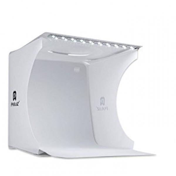Світловий лайткуб (photobox) Puluz PU5022 з LED підсвічуванням для предметної макрозйомки 24*23*22 см (SUN0116) - фото 1