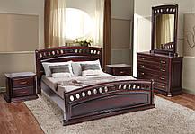Кровать Флоренция каштан 1,6 (Микс-Мебель ТМ), фото 3