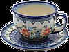Чашка 0,2L с блюдцем Merry-go-round