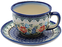 Чашка 0,2L с блюдцем Merry-go-round, фото 1