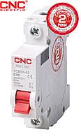 Модульний автоматичний вимикач CNC YCB6Н-63, 1А-63А, 1Р, серії Safe, тип С, 4.5 kA