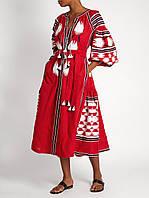 """Платье вышиванка свободное """"Rosalie"""""""