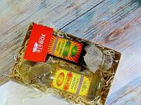 Подарочный набор - Национальный комплимент Медовый от UkrainianBox