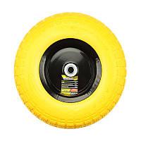 Колесо полиуретановое 13' 4,0х6 o/d=16 к тачке Budmonster арт. 01-077, 01-002 модель 01-020 (56740)