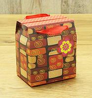 """Коробка подарочная """"Домик для чашки» (14,5*12*9 см)"""