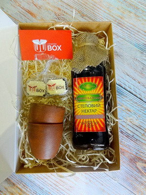 Национальный сувенир Степовий нектар от UkrainianBox
