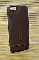 Кожаный чехол на iPhone 5 / 5s / se SIBLING-LINE
