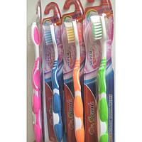 """Зубна щітка """"Dr Brush"""" середньої жорсткості No3007/-079/12"""