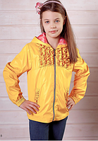 """Ветровка детская для девочки #1592Y ТМ """"Peekaboo"""" (Пикабу, Украина)"""