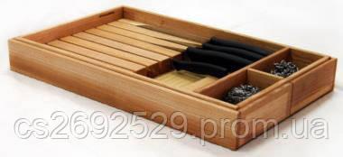 Лоток Ergobox раздвижной для ножей и столовых приборов от 276 до 520 мм