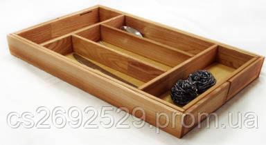Лоток Ergobox раздвижной для столовых приборов 276-520 мм