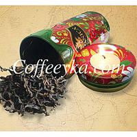 Чай зеленый Zylanica Зеленая свеча Gp1 100г ж/б, фото 1