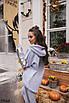 Женский теплый костюм  Серый, фото 2
