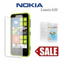 Защитная пленка для Nokia Lumia 620 - Celebrity Premium (clear), глянцевая