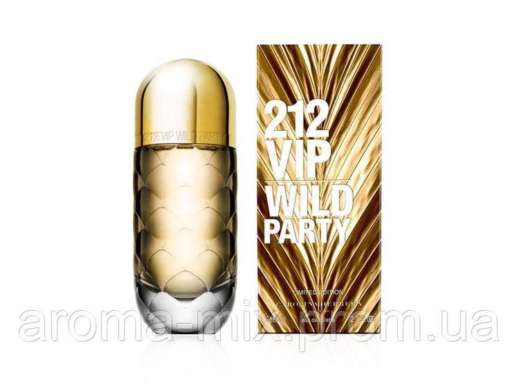 Carolina Herrera 212 VIP Wild Party - женская туалетная вода