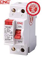 Модульний автоматичний вимикач CNC YCB6Н-63, 1A-63A, 2Р, серії Safe, тип С, 4.5 kA