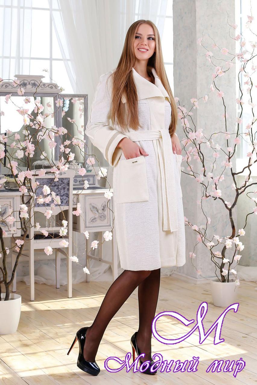 Женский стильный кардиган-пальто (р. 44-58) арт. 1114 Тон 112