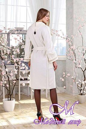Женский стильный кардиган-пальто (р. 44-58) арт. 1114 Тон 112, фото 2