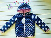 Куртка демисезон  на девочку   (рост 86, 110 см)