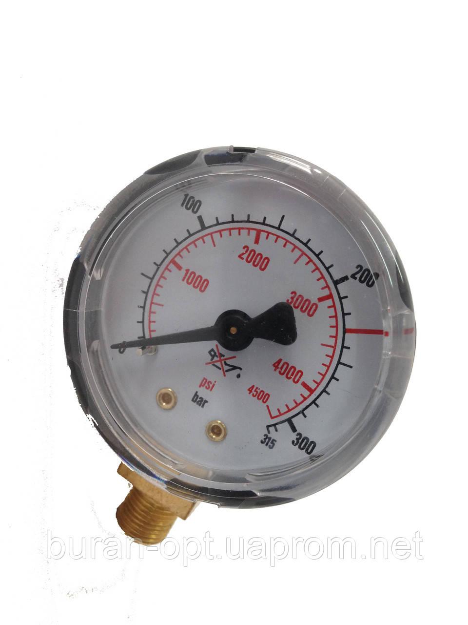 Манометр СО2 Мини 0-315 bar G1/8