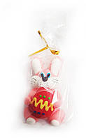 Пасхальный кролик розовый