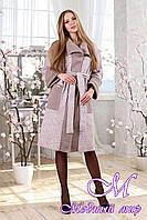 Женский весенний кардиган-пальто (р. 44-58) арт. 1114 Тон 111