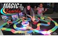 Magic Tracks 360 деталей Mega Set Детская Игрушечная Дорога Трек , фото 1