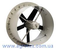 Вентилятор системи вентиляції низького тиску, Ø 630 мм, Fancom