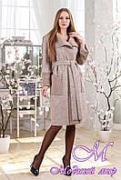 Женский демисезонный кардиган-пальто (р. 44-58) арт. 1114 Тон 34