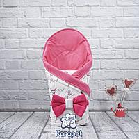 """Детский конверт на выписку весна """"Valleri"""" (балерины)"""