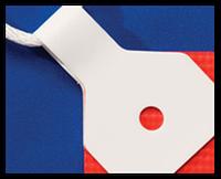 Клипсы тип 01 упаковка 100 шт белые (США)