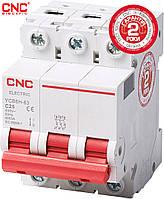 Модульний автоматичний вимикач CNC YCB6Н-63, 1A-63A, 3Р, серії Safe, тип С, 4.5 kA