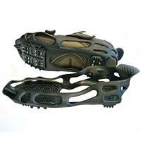 Ледоступы для обуви BlackSpur M на 24 шипа, накладки на подошву