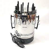 Электрошашлычница Помощница шашлычница шашлык 8 шампуров с таймером, фото 3