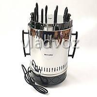 Электрошашлычница Помощница шашлычница шашлык 8 шампуров с таймером