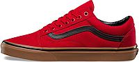 Мужские кеды Vans Old Skool Red Ванс Олд Скул красные