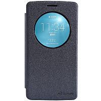 Кожаный чехол Nillkin Sparkle для LG G3s D724 черный, фото 1