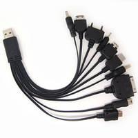 Универсальный кабель-USB-зарядка 10 в 1 , фото 1