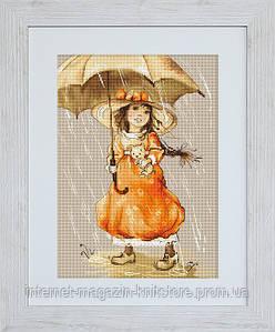 """Набор для вышивания крестом """"Зонтик"""""""
