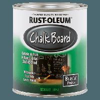 Краска для создания эффекта школьной доски чёрная, банка 0,946 л