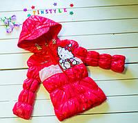 Куртка   на девочку   (рост 86-92 см)