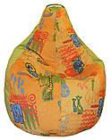 Кресло мешок груша пуф бескаркасная мебель для детей, фото 2