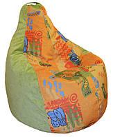 Кресло мешок груша пуф бескаркасная мебель для детей, фото 1