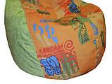 Кресло мешок груша пуф бескаркасная мебель для детей, фото 3