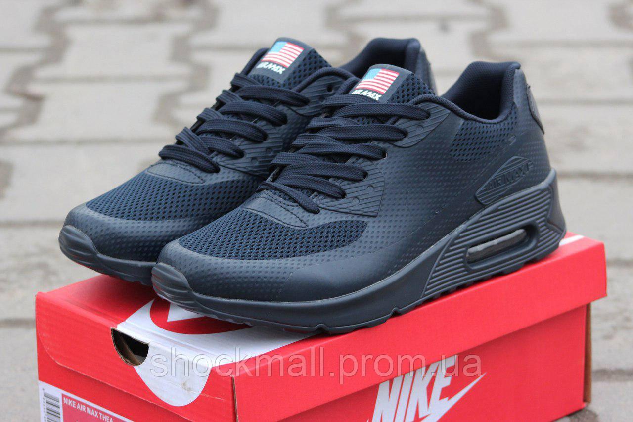 Кроссовки мужские Nike Air Max 90 Hyperfuse USA FLAG синие - Интернет  магазин ShockMall в Киеве bbeb8d3a5e6